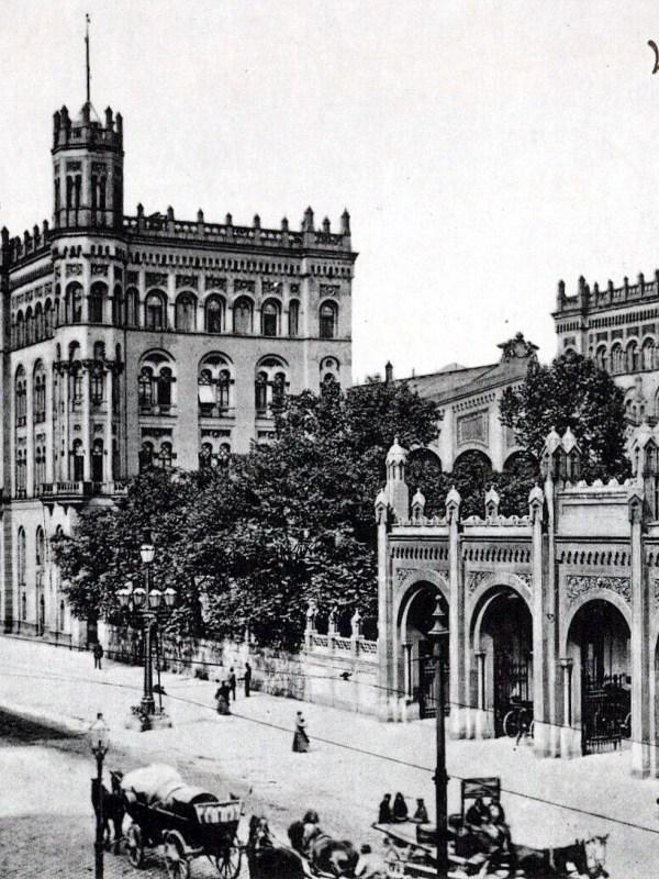 Wien 1905, Nordbahnhof