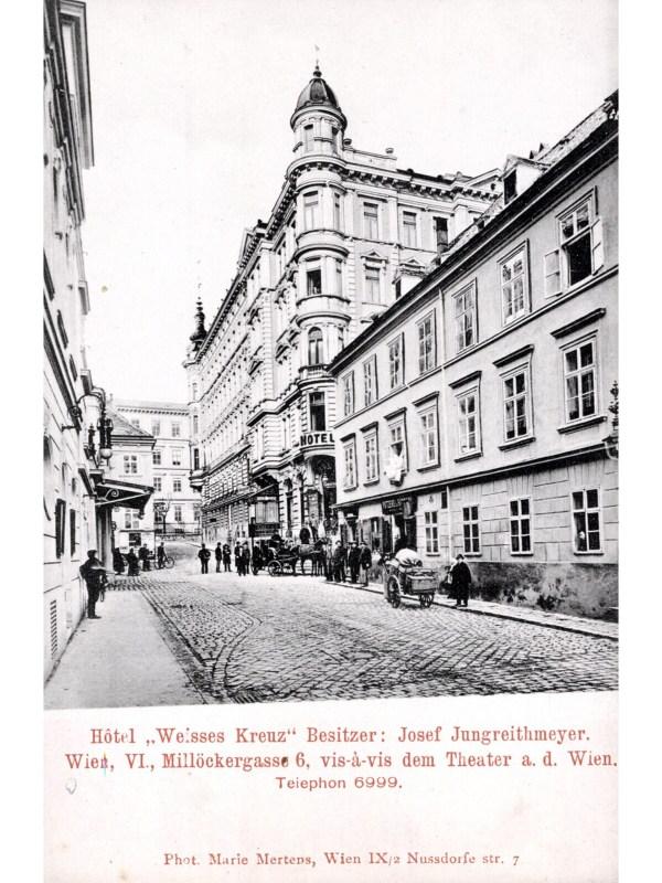 Wien 1903, Hotel Weißes Kreuz
