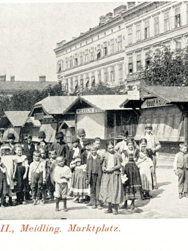 Wien 1900, Marktplatz