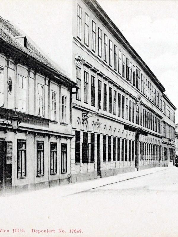 Wien 1903, Mittersteig