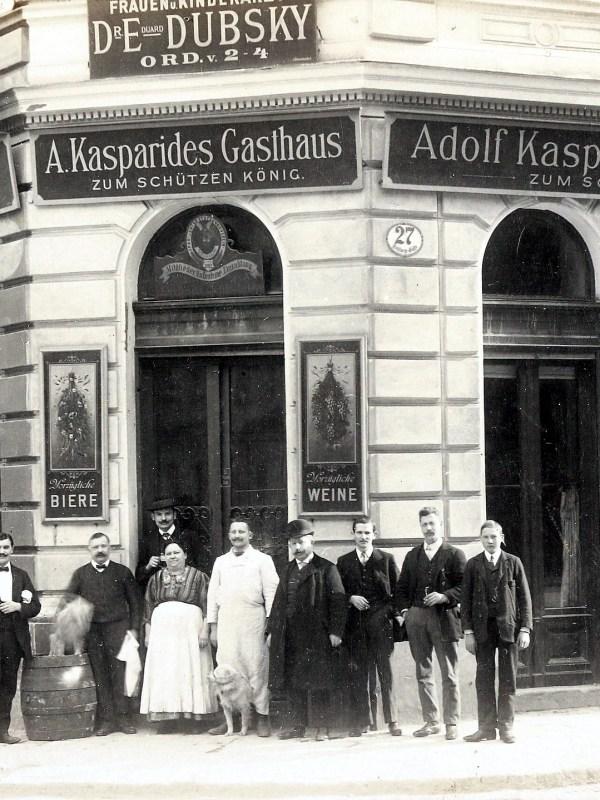 Wien 1910, Gasthaus zum Schützenkönig
