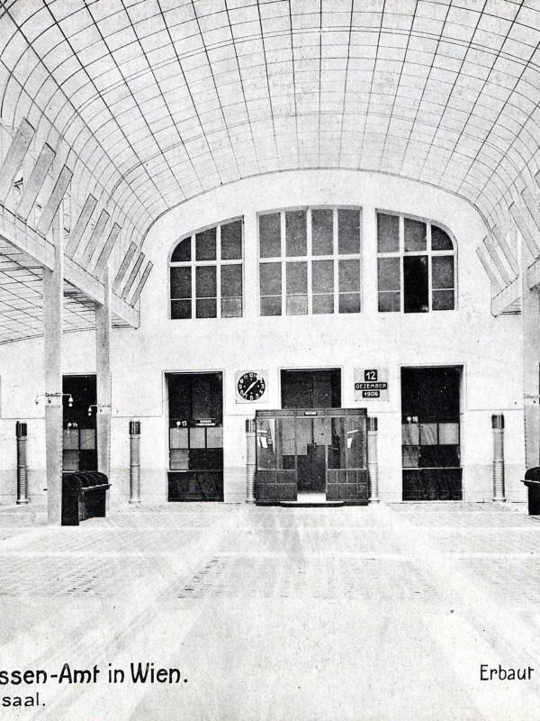 Wien 1906, Kassensaal