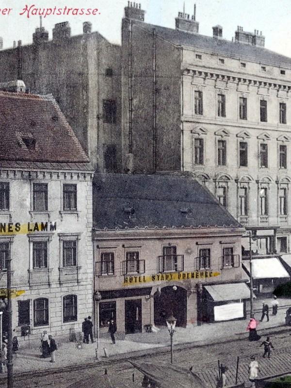 Wien 1906, Wiedner Hauptstraße