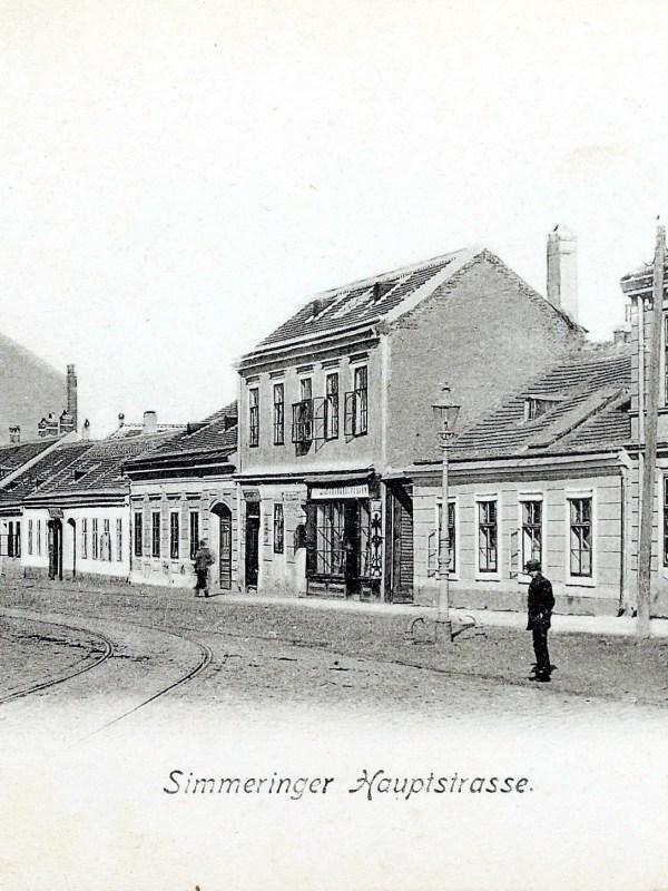 Wien 1900, Simmeringer Hauptstraße