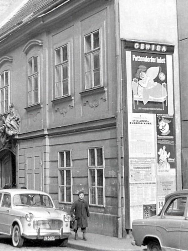 Wien 1955, Altes Haus