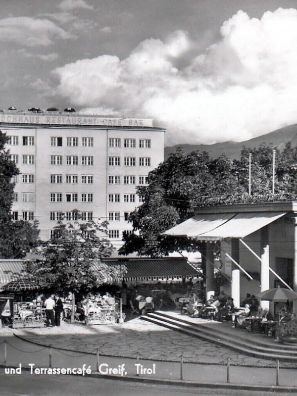 Innsbruck 1955, Kaffeehäuser