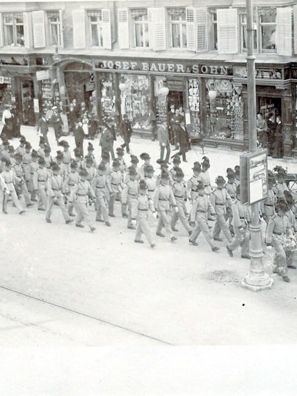 Innsbruck 1902, Geschäftsstraße