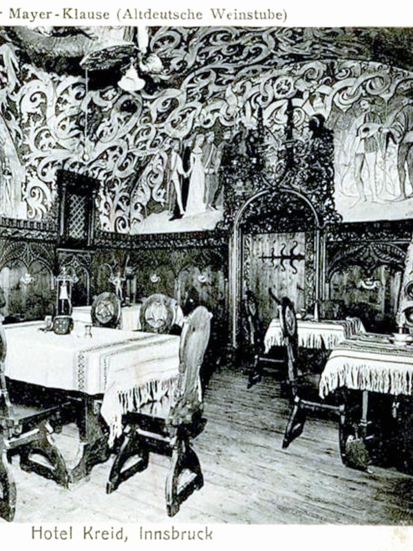 Innsbruck 1910, Altdeutsche Weinstube