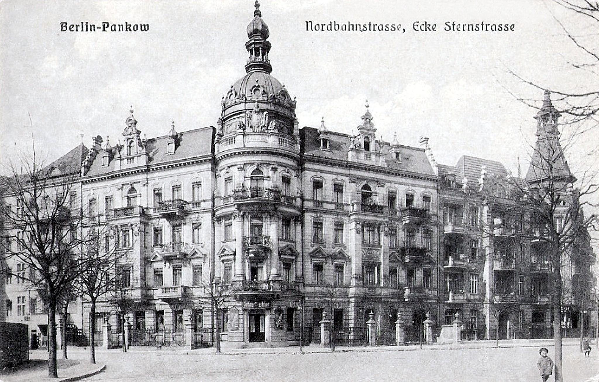 Berlin-Pankow 1905, Nordbahnstraße