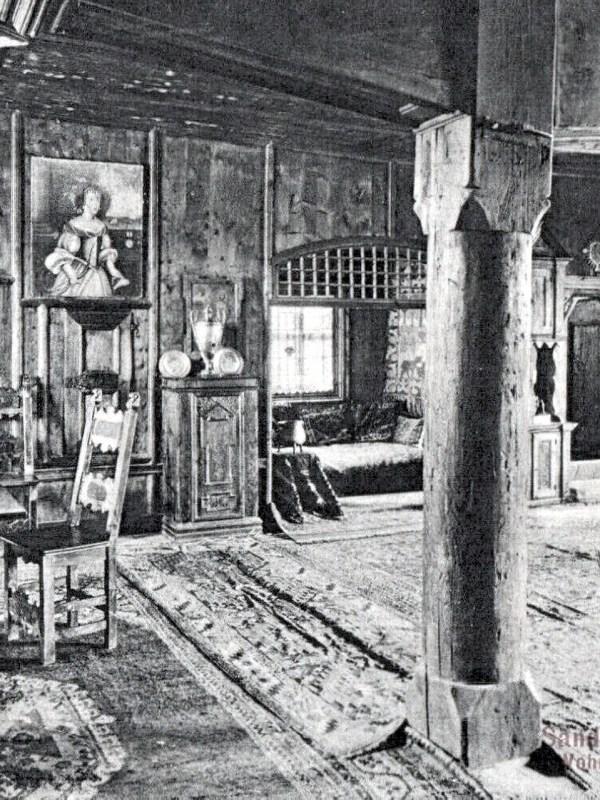 Schloss Taufers 1910, Gerichtsstube