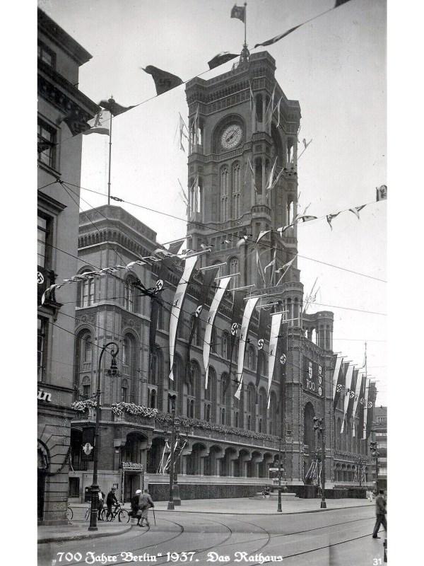 Berlin 1937, Rotes Rathaus