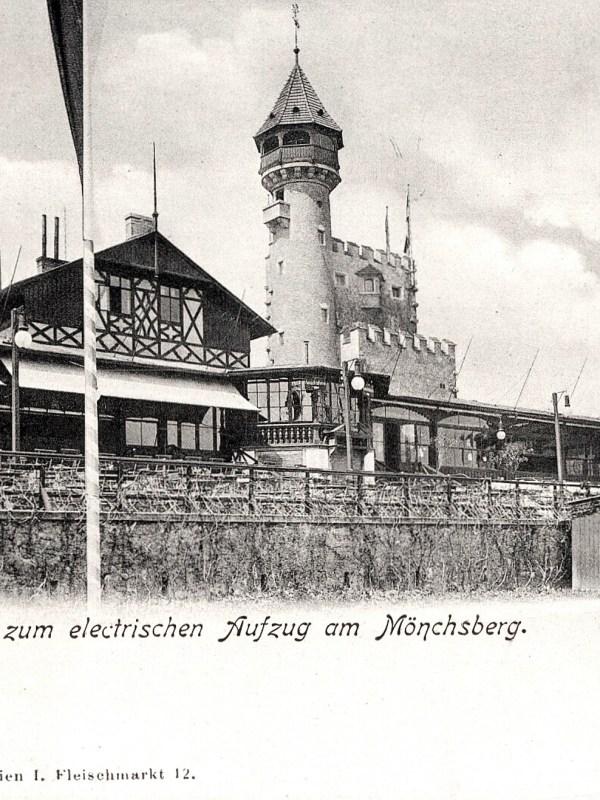 Salzburg 1906, Mönchsberg