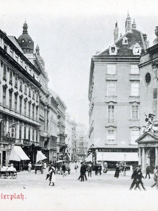Wien 1898, Michaelerplatz
