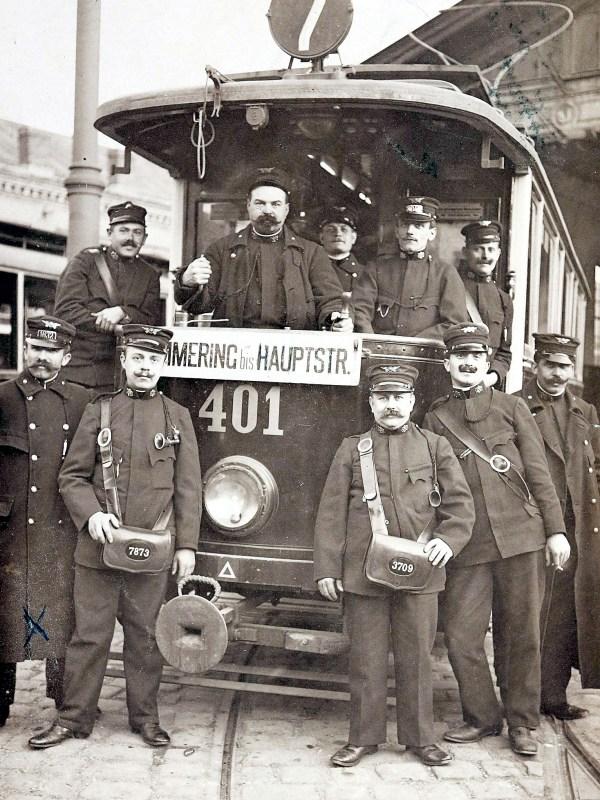 Wien 1910, Straßenbahner