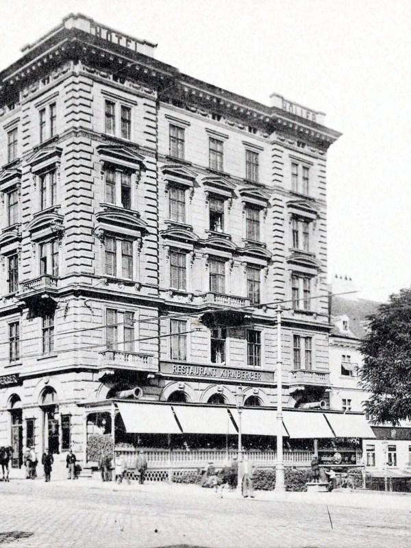 Wien 1905, Restaurant Kirnberger