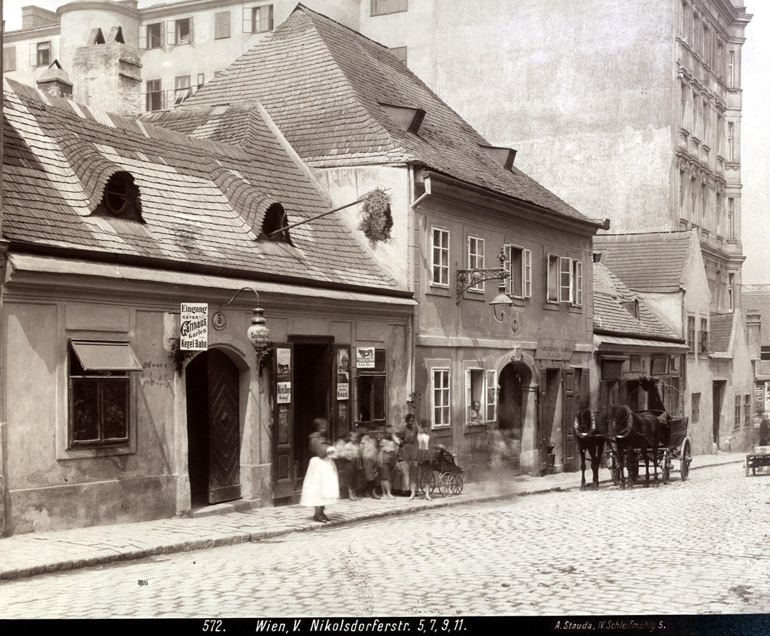 Wien 1901, Nikolsdorfer Straße