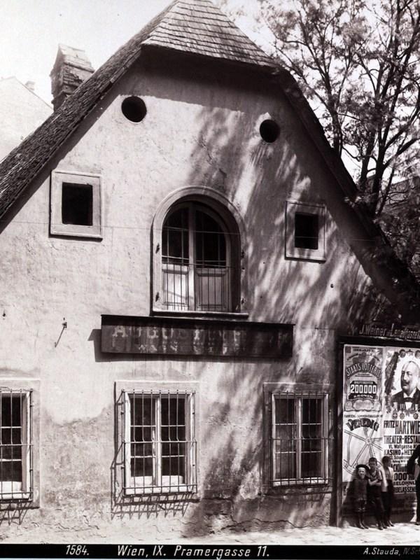 Wien 1903, Pramergasse