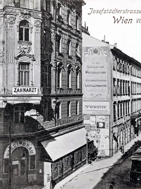 Wien 1903, Josefstädter Straße