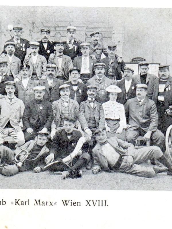 "Wien 1901, Arbeiter-Radfahrklub ""Karl Marx"""