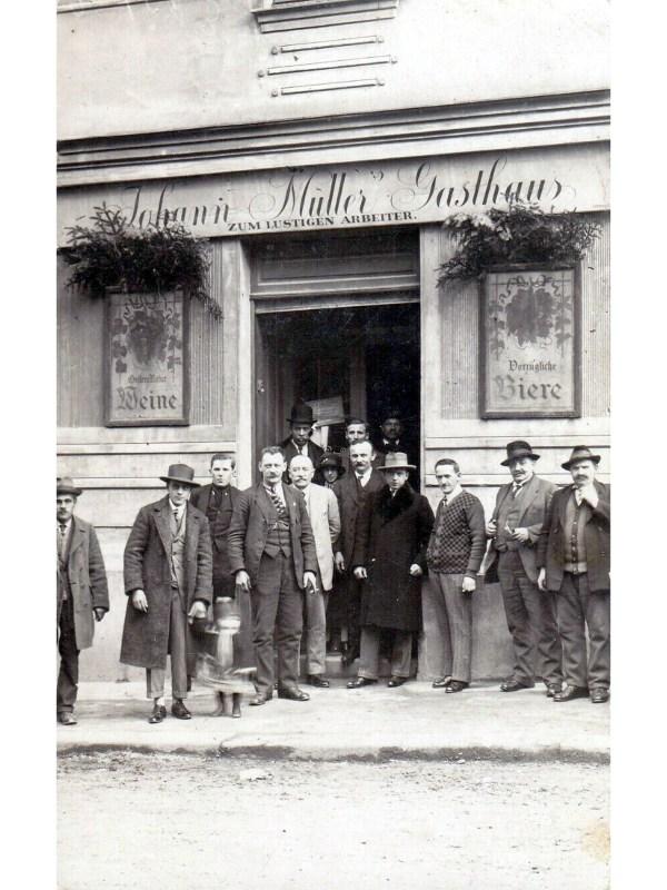 Wien 1925, Gasthaus zum Lustigen Arbeiter