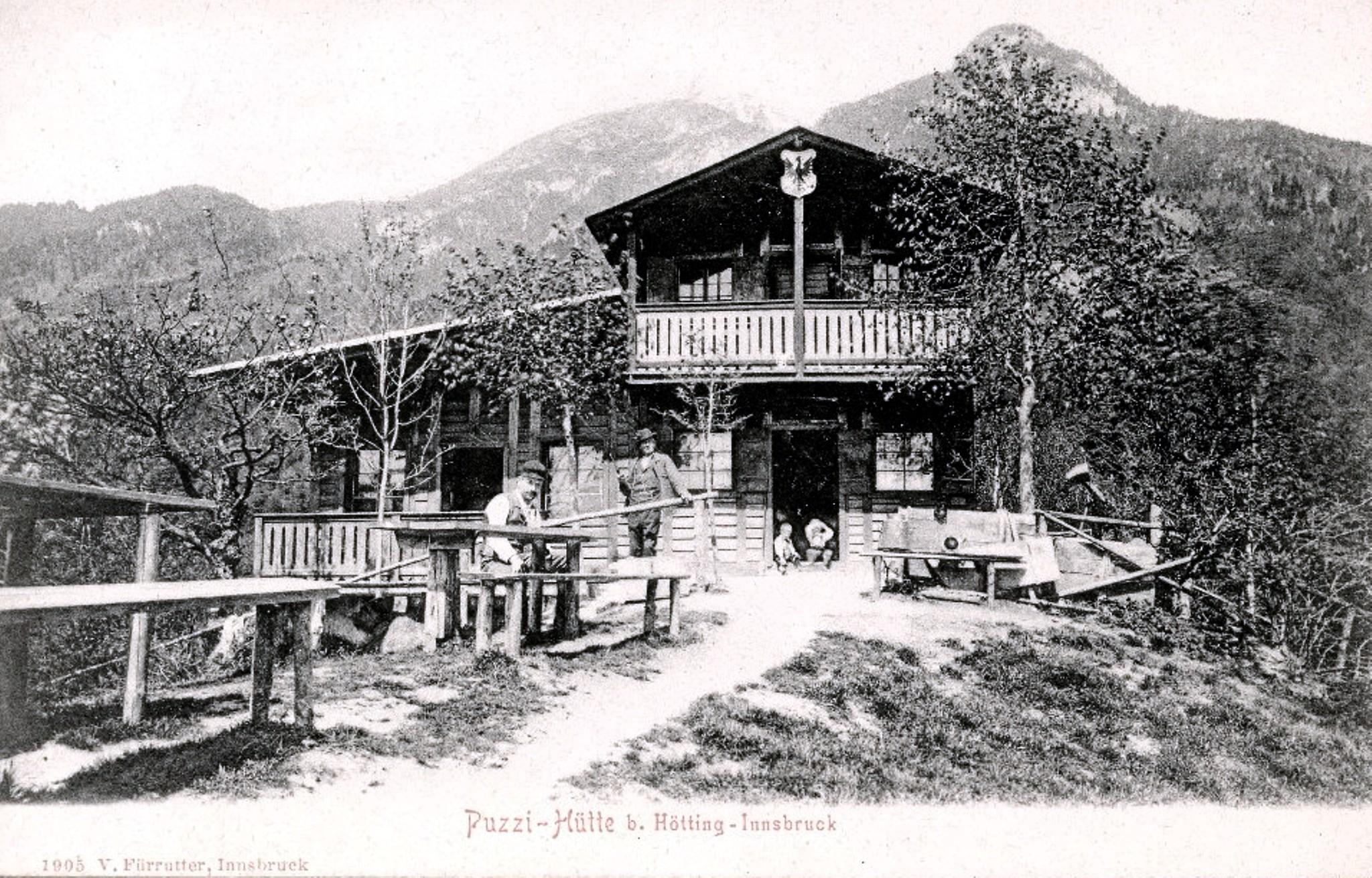 Innsbruck 1905, Buzihütte