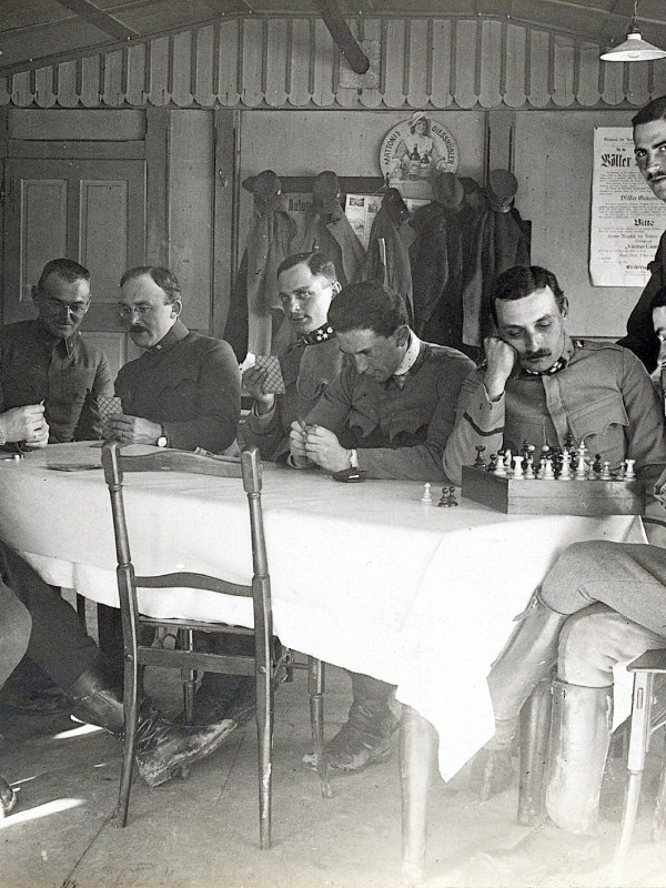 St. Christina in Gröden 1916, Alltagsleben