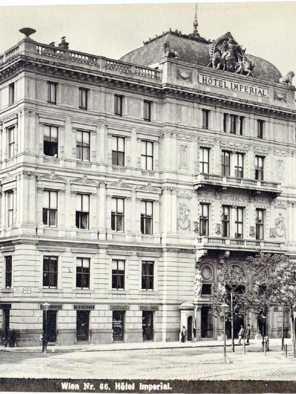 Wien 1880, Hotel Imperial