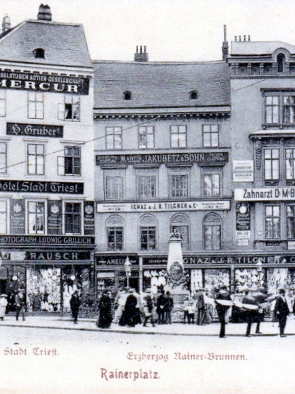 Wien 1903, Hotel Stadt Triest