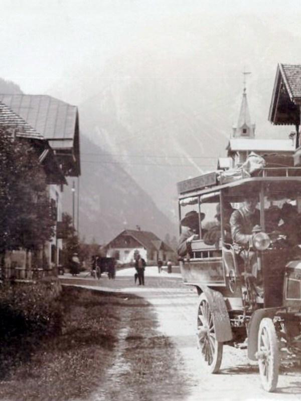 Toblach 1903, Häuserbild