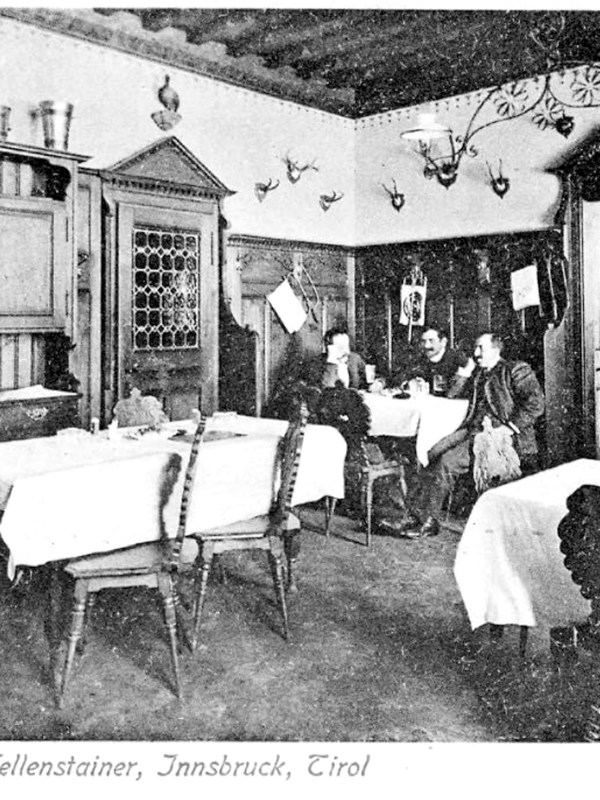Innsbruck 1903, Gasthof Hellenstainer