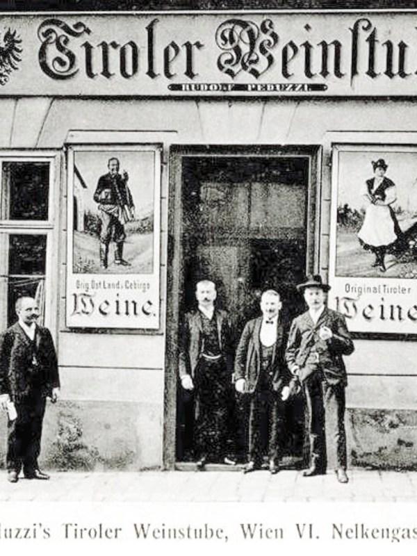 Wien 1906, Tiroler Weinstube