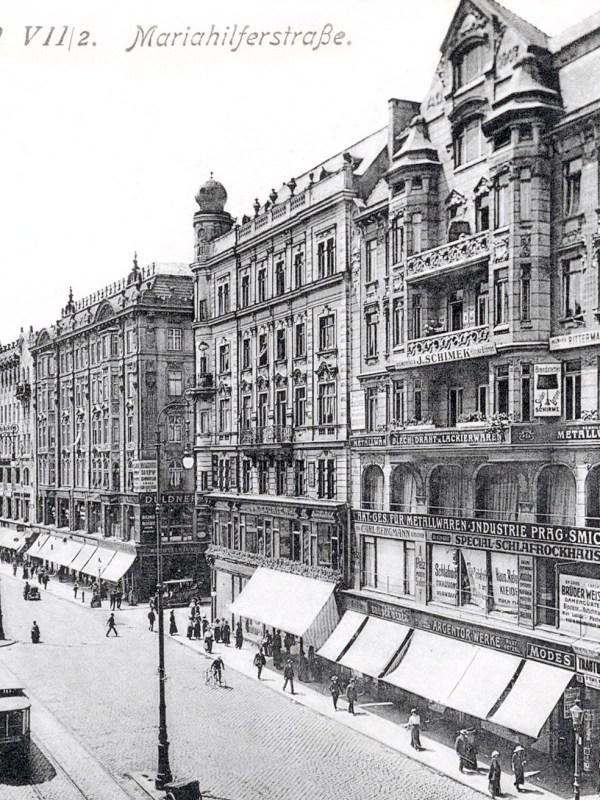 Wien 1910, Mariahilfer Straße