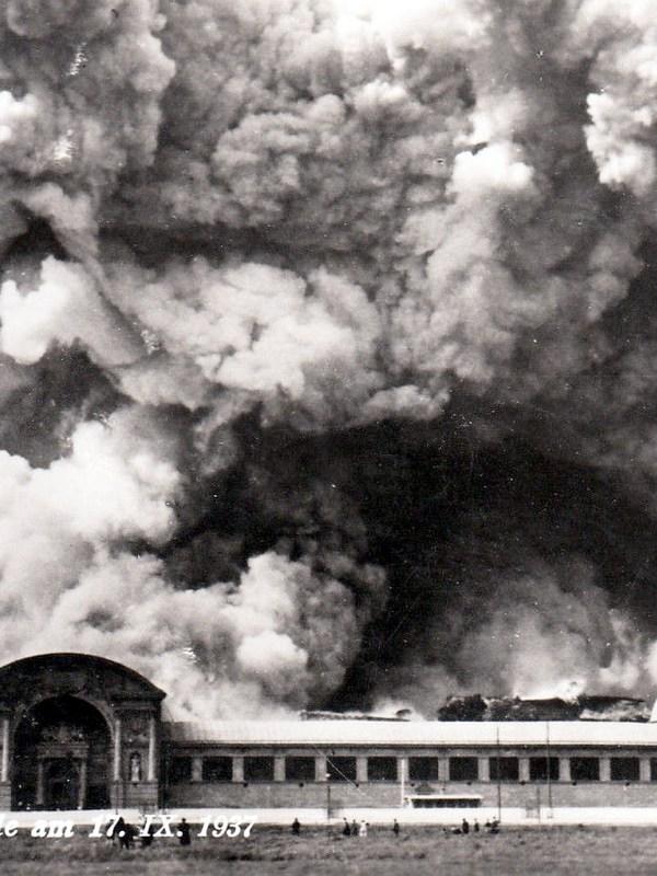 Wien 1937, Brand der Rotunde
