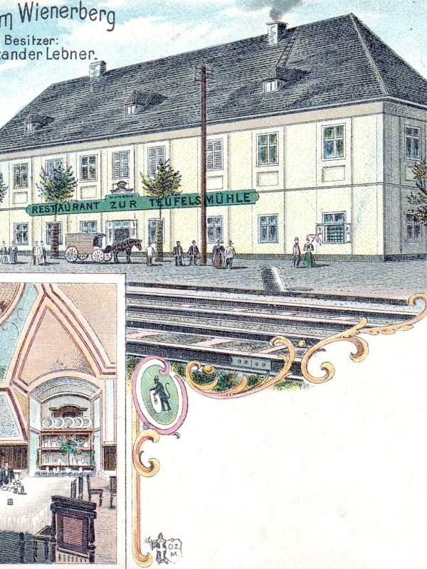 Wien 1898, Restaurant zur Teufelsmühle