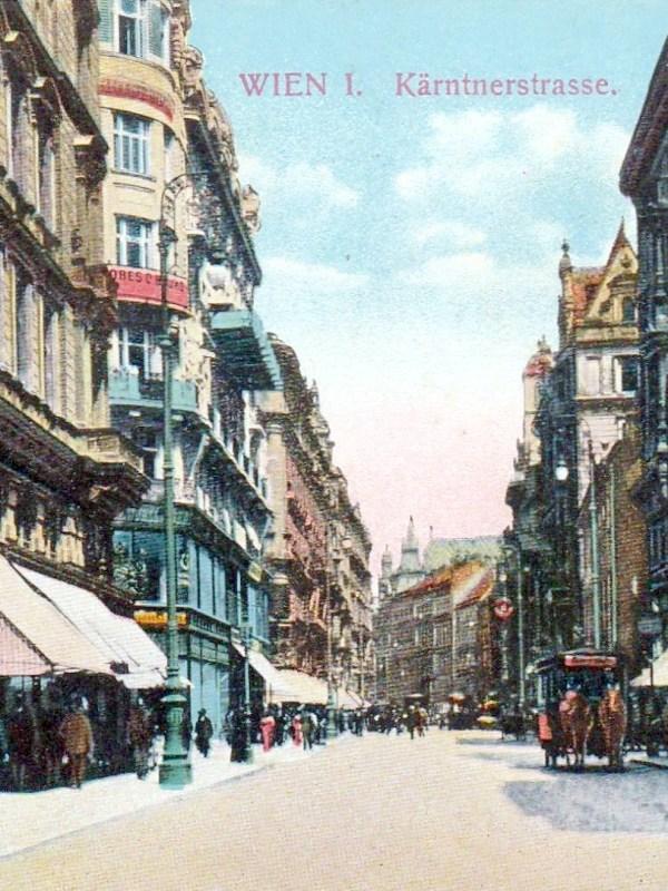 Wien 1910, Kärntner Straße