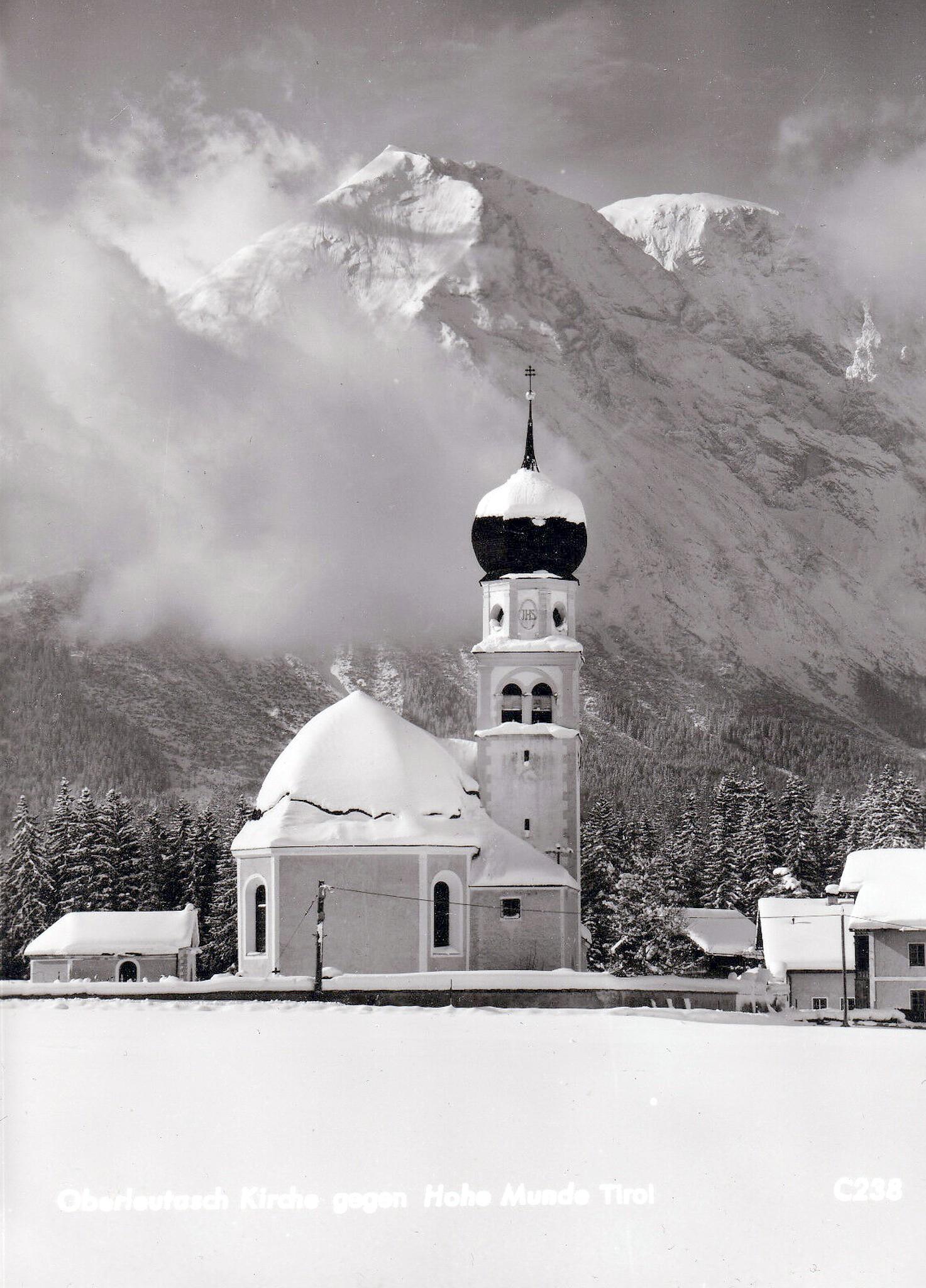 Oberleutasch 1955, Winterbild