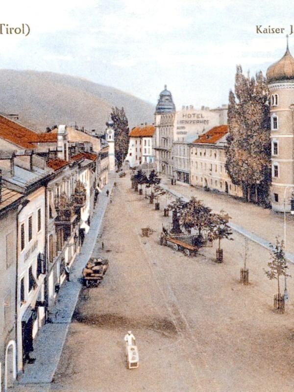 Lienz 1912, Kaiser-Josef-Platz