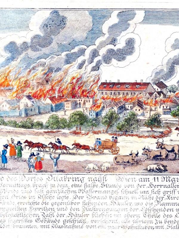Ottakring 1835, Dorfbrand