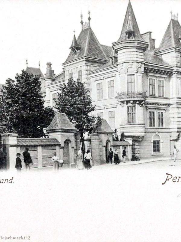 Wien 1905, Palais Cumberland