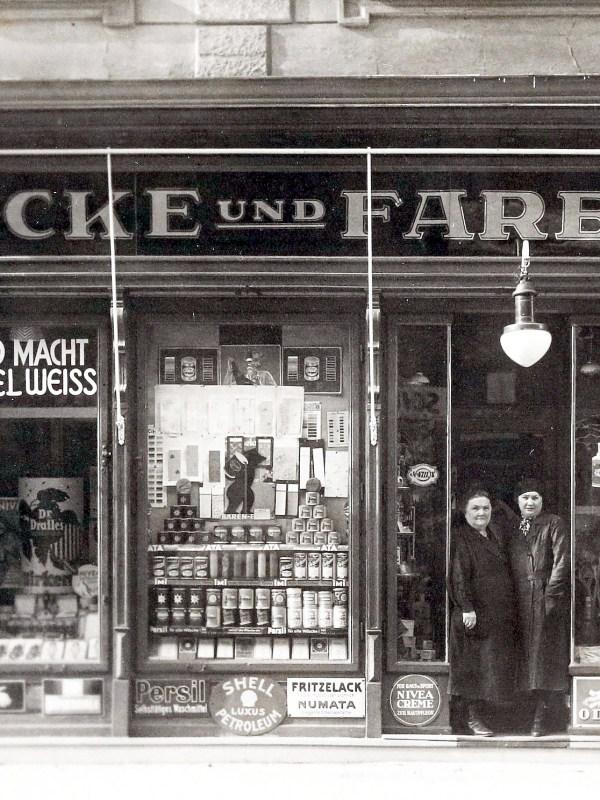 Wien 1935, Farbenhandlung