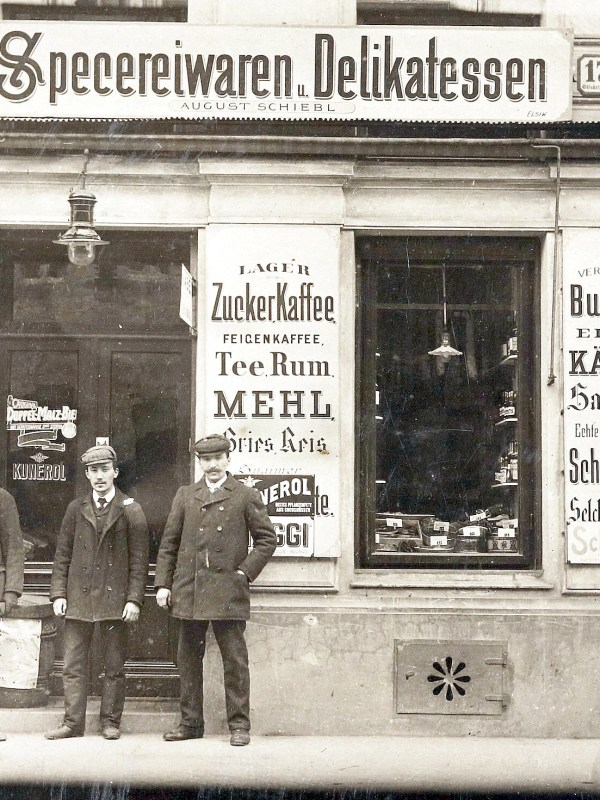 Wien 1910, Spezereiwarenhandlung