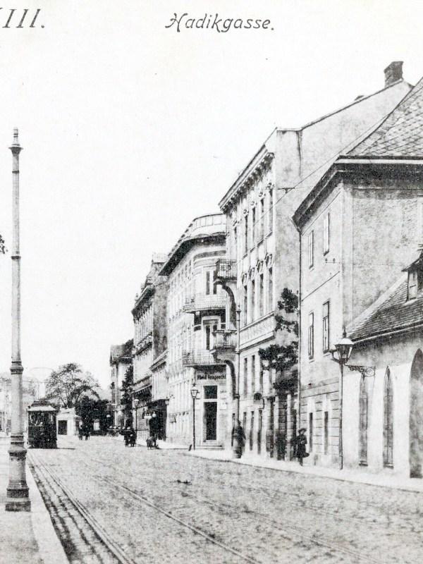 Wien 1905, Hadikgasse
