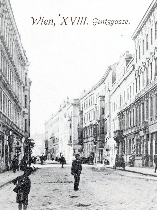 Wien 1905, Gentzgasse