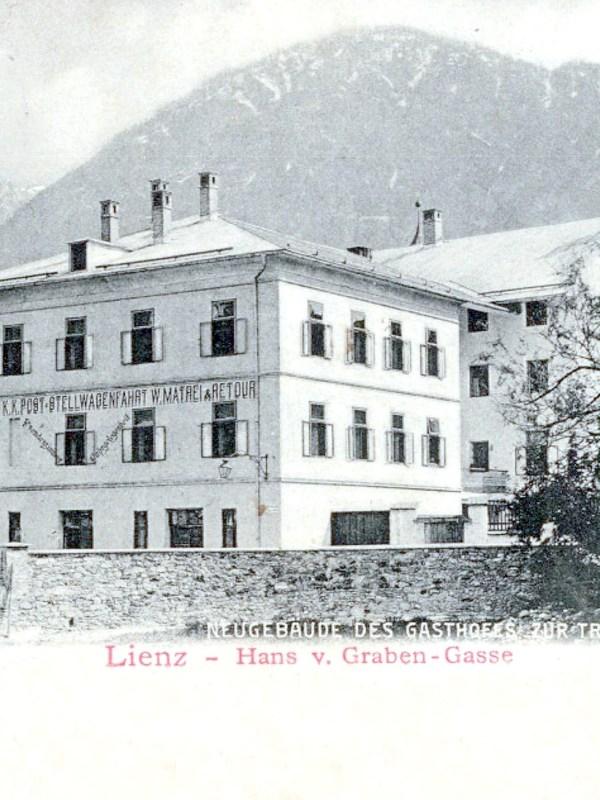 Lienz 1901, Gasthaus Traube