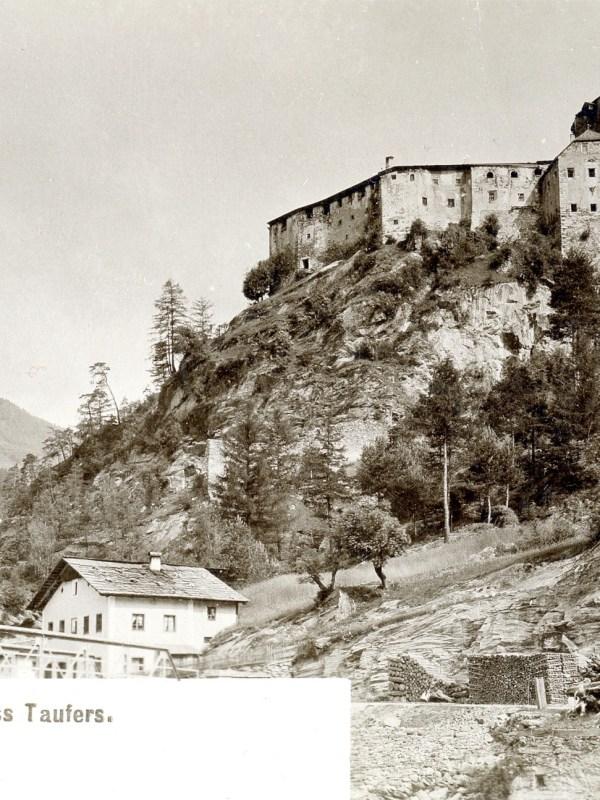 Schloss Taufers 1899, Fernblick