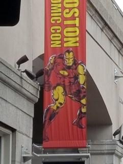 Iron Man boston comic con