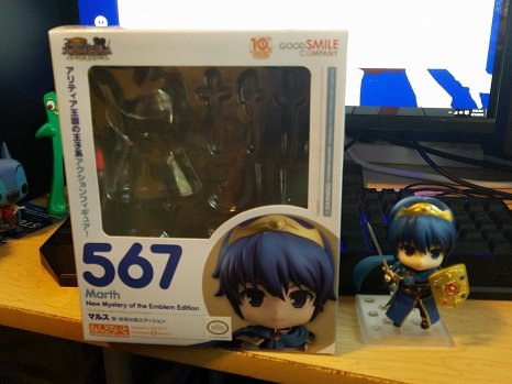 marth Nendodroid out of the box