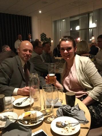 Staffan Gunnarson och Carolin Nielsen.