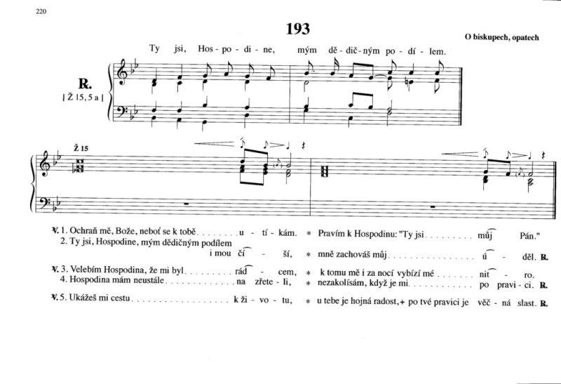 193 O biskupech, opatech