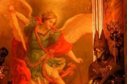 Svatý Michaeli na přání papeže